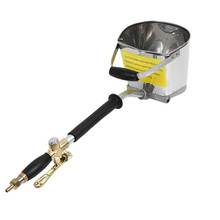 Stainless Steel Stucco Fast Shipping Durable DIY Home Paint Wall Plaster Hopper Bucket Anti Rust Cement Mortar Sprayer Hand Tool