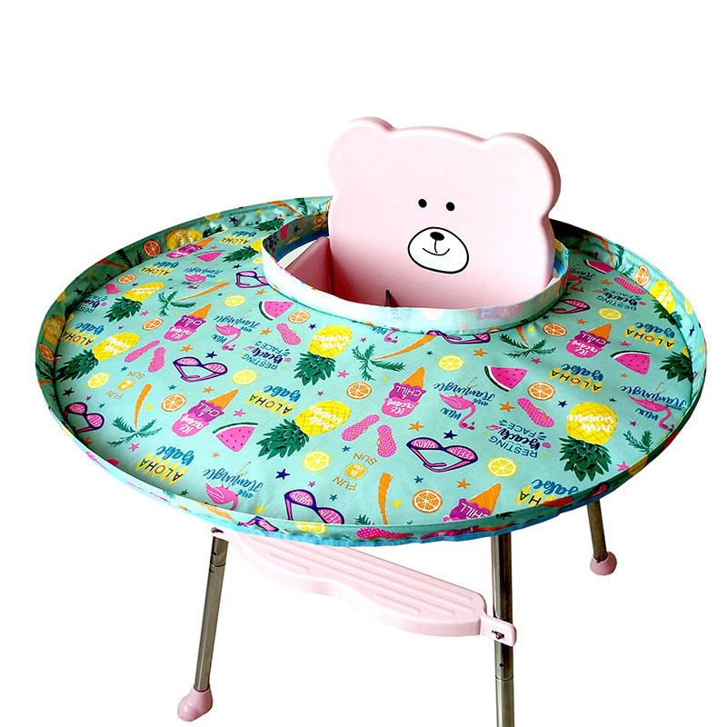 High Quality Foldable Kids Dining Chair Cover Portable Eating Mats Dining Chair Tray Anti-food Drop Baby Feeding Accessories