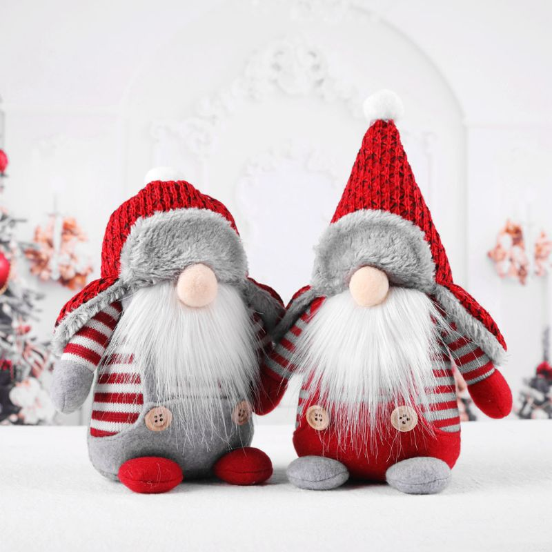 Рождественский шведский гном Санта плюшевые игрушки куклы украшения для дома вечерние украшения, детский подарок на Рождество