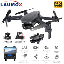 Laumox sg907 pro zangão gps com 2 eixos câmera cardan 4k hd 5g wifi grande angular fpv fluxo óptico rc quadcopter dron sg906 pro 2