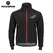 ROCKBROS Winter Cycling Jackets Men Women Thermal Warm Wind Bike Coat Tops MTB Reflective Waterproof Bicycle Jerseys Ciclismo