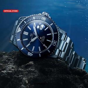 Image 5 - Seagull Mannen Automatische Mechanische Horloge Fashion Business Rolex Ocean Star Horloge Saffier Kristal 200M Waterdicht Horloge 816.523