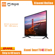 Original Xiaomi Mi Smart TV 4C 32 pulgadas 1GB 4GB 64-bit quad Core Android 9,0 HD TV WIFI CN versión