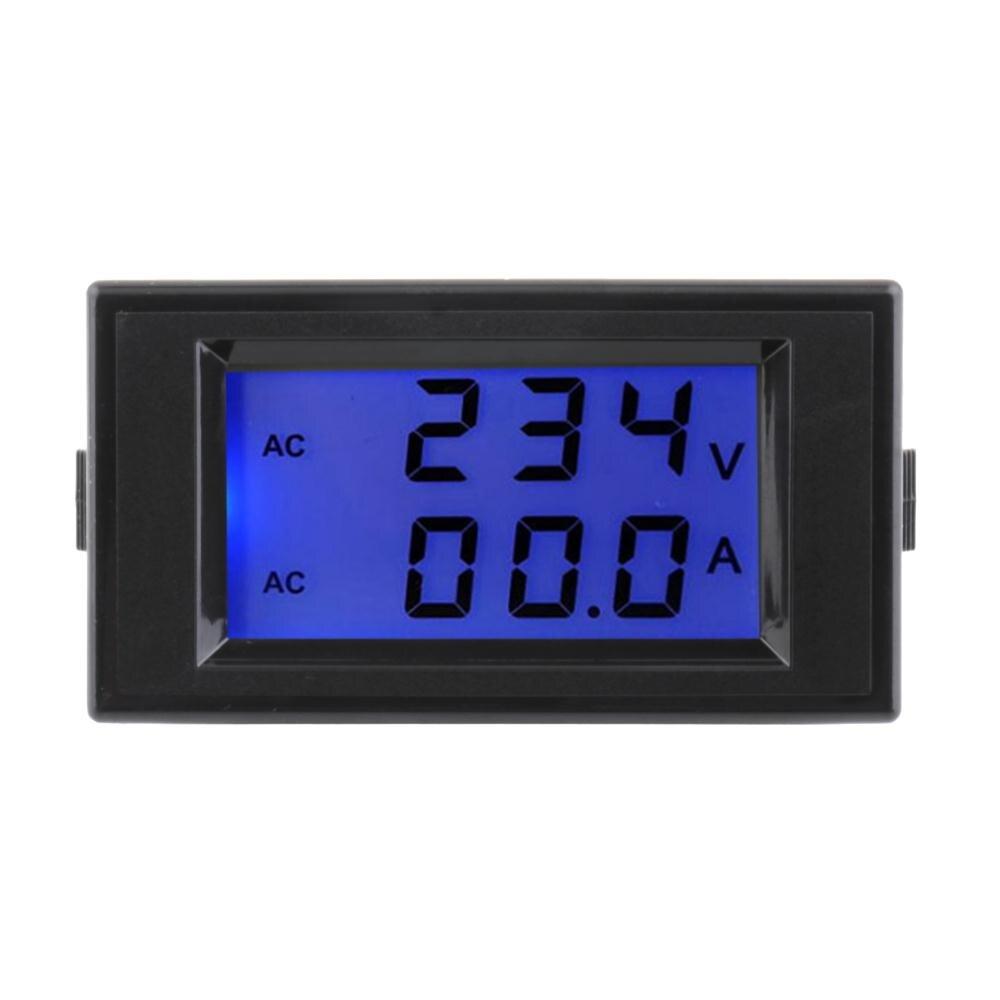 1 шт. 100A 300 в 110 В 220 В черный AC Цифровой Амперметр Вольтметр ЖК Панель Ампер вольт метр Новый Лидер продаж|Измерители напряжения|   | АлиЭкспресс