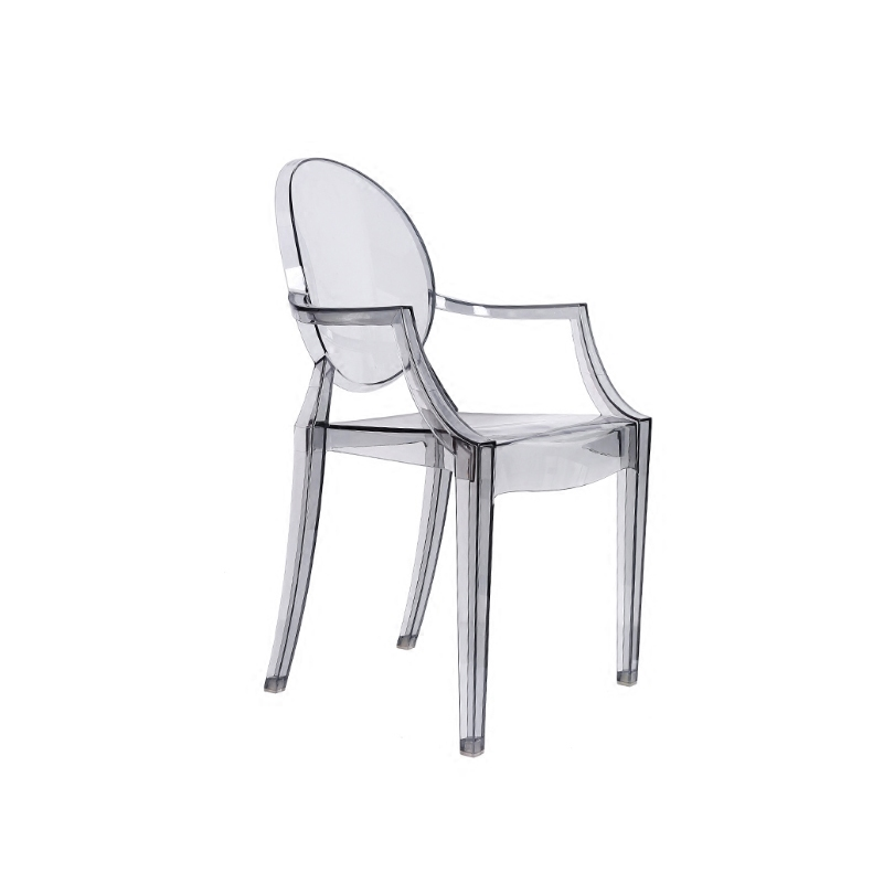 Transparent Ghost Devil Chair Acrylic Chair Simple Personality Indoor Outdoor Chair Study Living Room Dining Chair