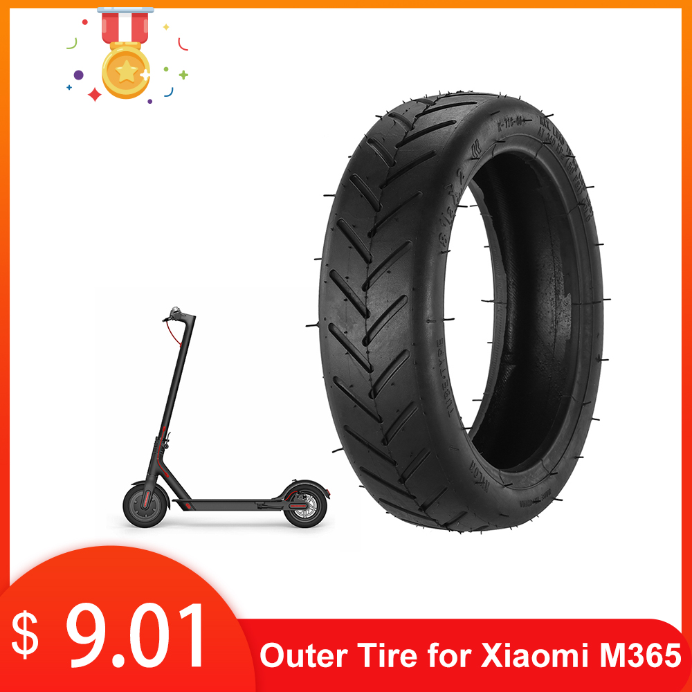 Solid Scooter Outer Tire Tubeless Tyre 8 1/2×2 for Xiaomi M365 Accessories Tire Solid Scooter Vacuum Tire for Mijia Skateboard