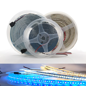 2835 LED strip SMD 1200 LEDs chip 12V LED Flexible PCB light LED backlight Strip LED tape 240 LEDs/m White Warm White
