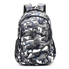 2 Sizes Camouflage Waterproof School Bags For Girls Boys Ort