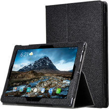 Smart Solid Flip Stand PU Leather Adjust Case Cover For Lenovo Tab 4 10 Plus TB-X704 704F 10''Armband Tablets&e-Books Case(China)