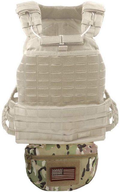 Tactical Dump Drop Pouch, Armor Carrier Drop Pouch Hunting EDC Utility Bag Combat Gear  for AVS JPC CPC AVS Tactical Vest 5