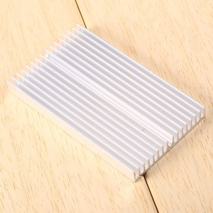 100X60X10mm DIY Cooler Aluminum Grille Shape Heat Sink Chip For IC LED Power Transistor Radiator Module Radiator Special Cooling