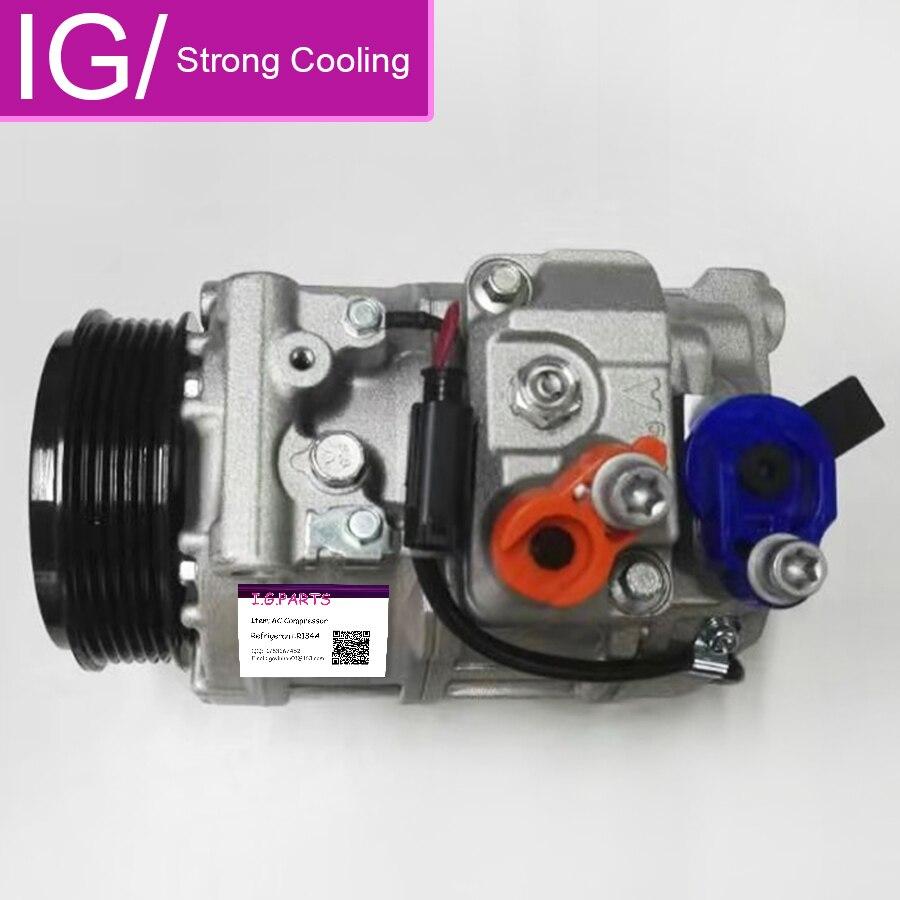 Для компрессора кондиционера для Mercedes-Benz CLK320 3.2L S430 4.3L S500 5.0L S55 C320 CL500 0002309111 0012300011 0012300611 0012301011