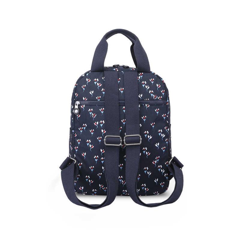 TEGAOTE Rucksack Frauen Multi Tasche Reise Zurück Packs Weibliche Bagpack Nylon Wasserdicht Mochila Feminina Floral Laptop Taschen 2020