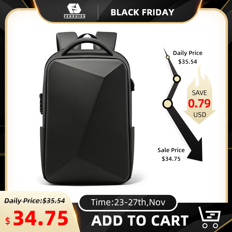 Laptop Backpack Travel-Bag Usb-Charging Business Anti-Theft Waterproof New-Design Brand