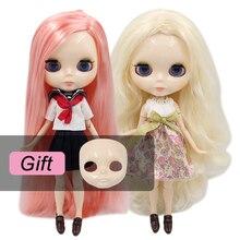 Buzlu DBS Blyth Doll bjd oyuncak ortak vücut beyaz cilt parlak yüz bebek 1/6 30cm kız hediye satılık özel teklif