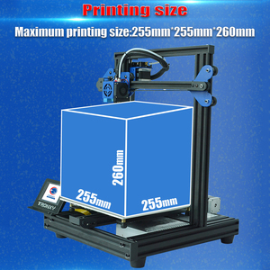 Image 4 - Tronxy  XY 2 Pro 3D Printer Kit Fast Assembly 255*255*260mm Support Auto Leveling Resume Print Filament Run Out Detection