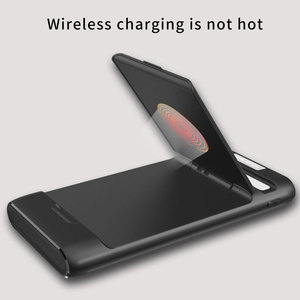 Image 4 - 3 IN 1 10000mAh Qi Wireless Charger Power Bank For Xiaomi Mi iPhone External Battery Wireless Charging Powerbank Phone Holder