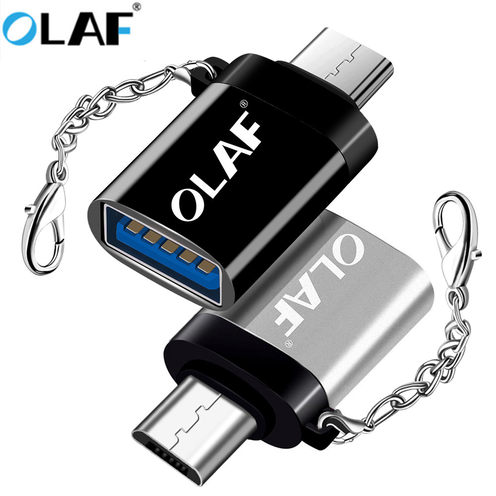 OLAF 5V Micro USB Cable Adapter Microusb OTG For Xiaomi Redmi Samsung Huawei Android Charging Converter Portable Cable Connector