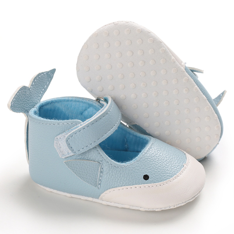 blue whale baby and toddler first walker shoes