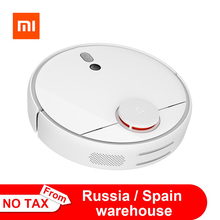 Original Xiaomi Mijia Mi Robot Vacuum Cleaner 1S 2 for Home Automatic Sweep Dust Sterilize cyclone Suction WIFI Smart Planned RC