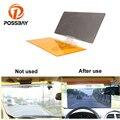 Автомобильный солнцезащитный козырек posbay 2 в 1  HD  защита от ослепления  дневной режим ночного видения  зеркало для вождения  защита от ультра...