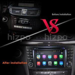 Image 3 - 2din IPS Android10 Auto Radio GPS Player Für Mercedes Benz E Klasse W211 E280 E200 E220 E300 E350 E240 e270 CLS W219 CLK W209 WiFi