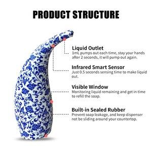 Image 5 - Dispensador automático de jabón líquido, bomba infrarroja sin contacto, para Baño