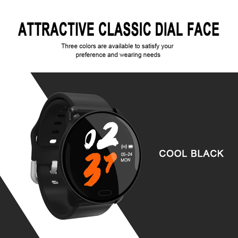 Smart Sports <font><b>Watches</b></font> Waterproof For Iphone Phone 2.5D Smartwatch Heart Rate Monitor Blood Pressure Functions <font><b>HQ</b></font> Material Wearfit image