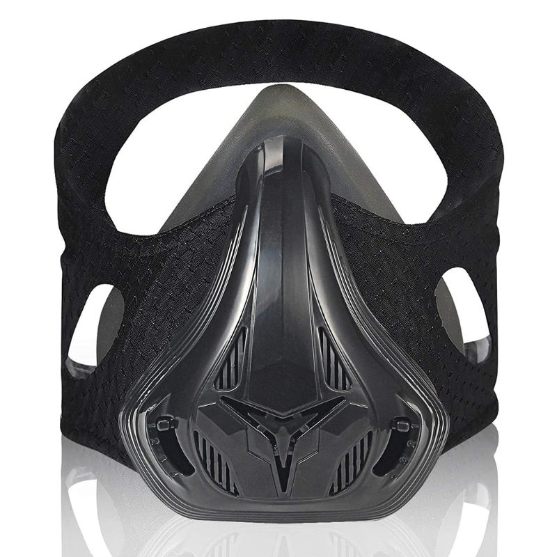 Gym Workout Sport Mask Running Fitness Breathing Resistance Oxygen Respirator Jogging Climbing Face Protective Cover