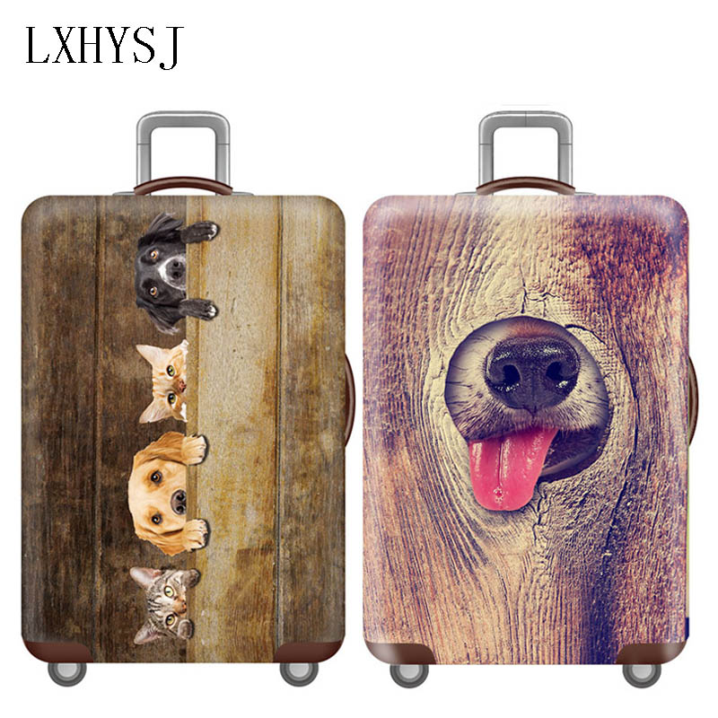 Travel Luggage Cover Trolley Protective Case Suitcase Dust Cover For 18-32 Inch Luggage Protective Covers Travel Accessories