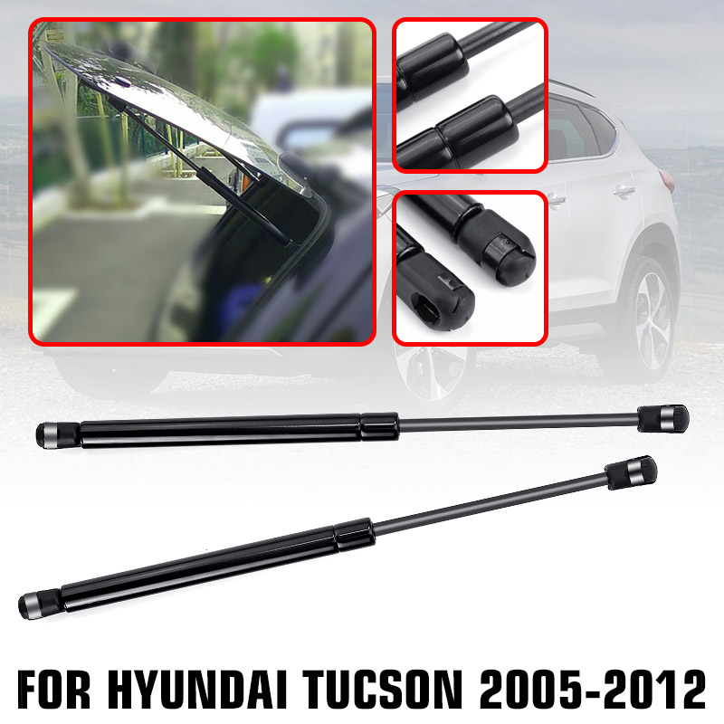 Shock-Lift-Strut-Struts-Support-Bar-Rod Gas-Spring 2006 2005 Hyundai Tucson Rear 2008