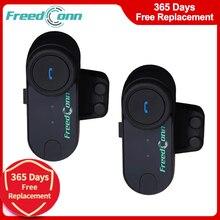 FreedConn TCOM VB Motorrad Bluetooth 800M Helm Headset Wireless Intercom Motorrad Helm Kopfhörer mit FM Radio Sprech