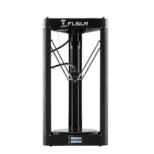Image 2 - FLSUN QQ S PRO 3D Printer High speed  Large Printing Size 255*360mm kossel Delta 3d Printer Auto leveling touch screen