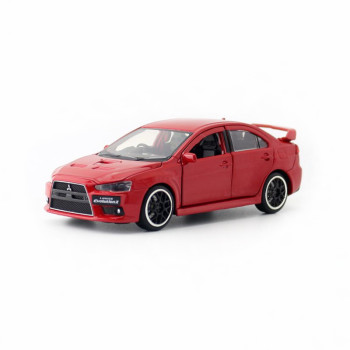 JACKIEKIM/Diecast Toy Model/1:32 Scale/Mitsubishi EVO X 10 Super Racing Car/Sound & Light/Educational Collection/Gift For Kid image