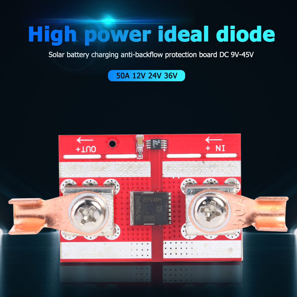 ideal diodo solar carregamento da bateria 05