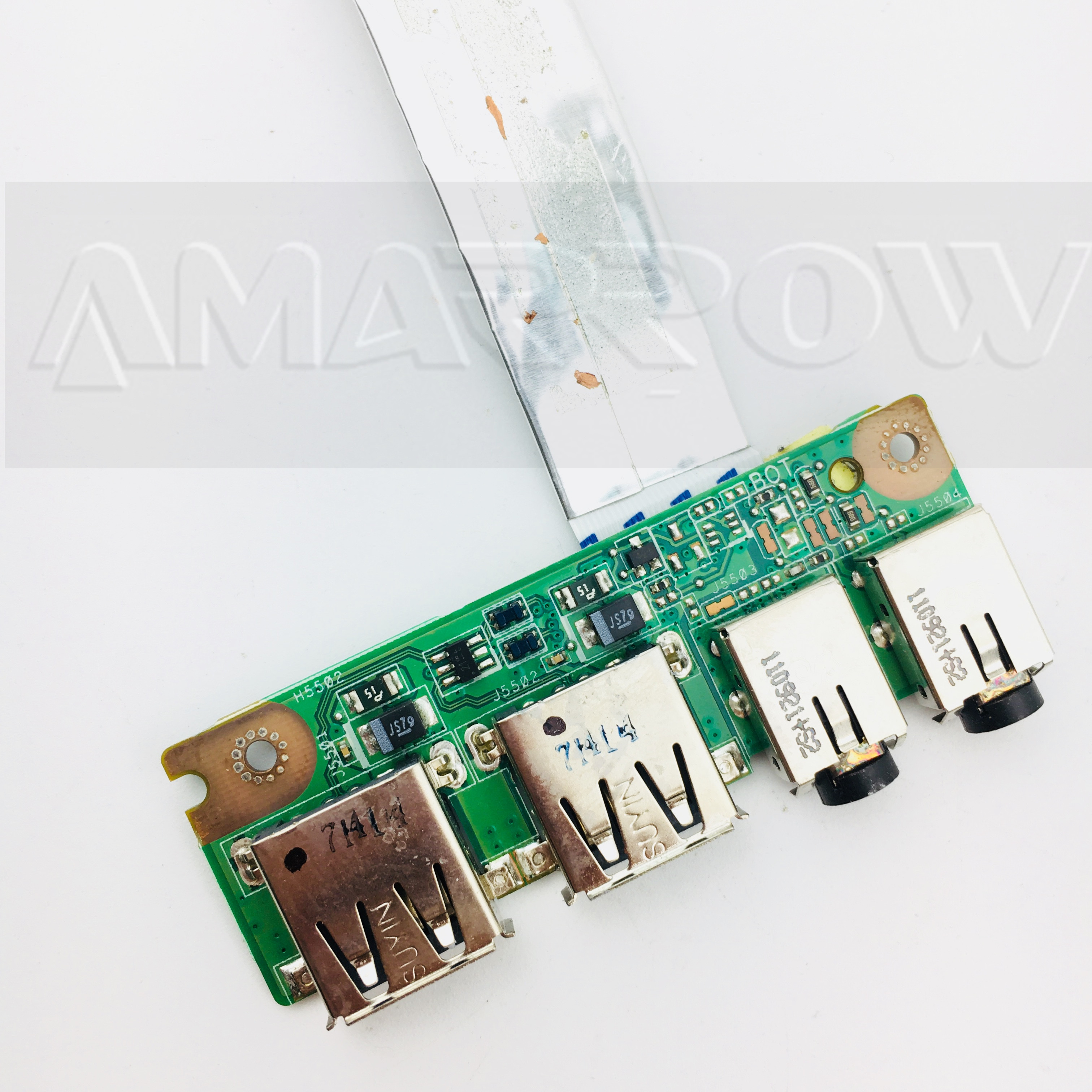Original Free Shipping For Asus K53 K53SV A53S X53S K53S K53SD P53S P53Sj K53E X53E A53E USB AUDIO JACK Audio Board USB Board