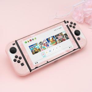 Image 4 - สำหรับ Nintendo สวิทช์ NS Joy CON Controller กรณีน่ารัก PC Shell ชุดสวิทช์คอนโซลอุปกรณ์เสริม