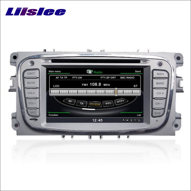 Liislee Car Multimedia System For Ford Kuga 2008~2012 Radio Stereo Wifi DVD Player GPS Satellite Nav Navigation HD Touch Screen