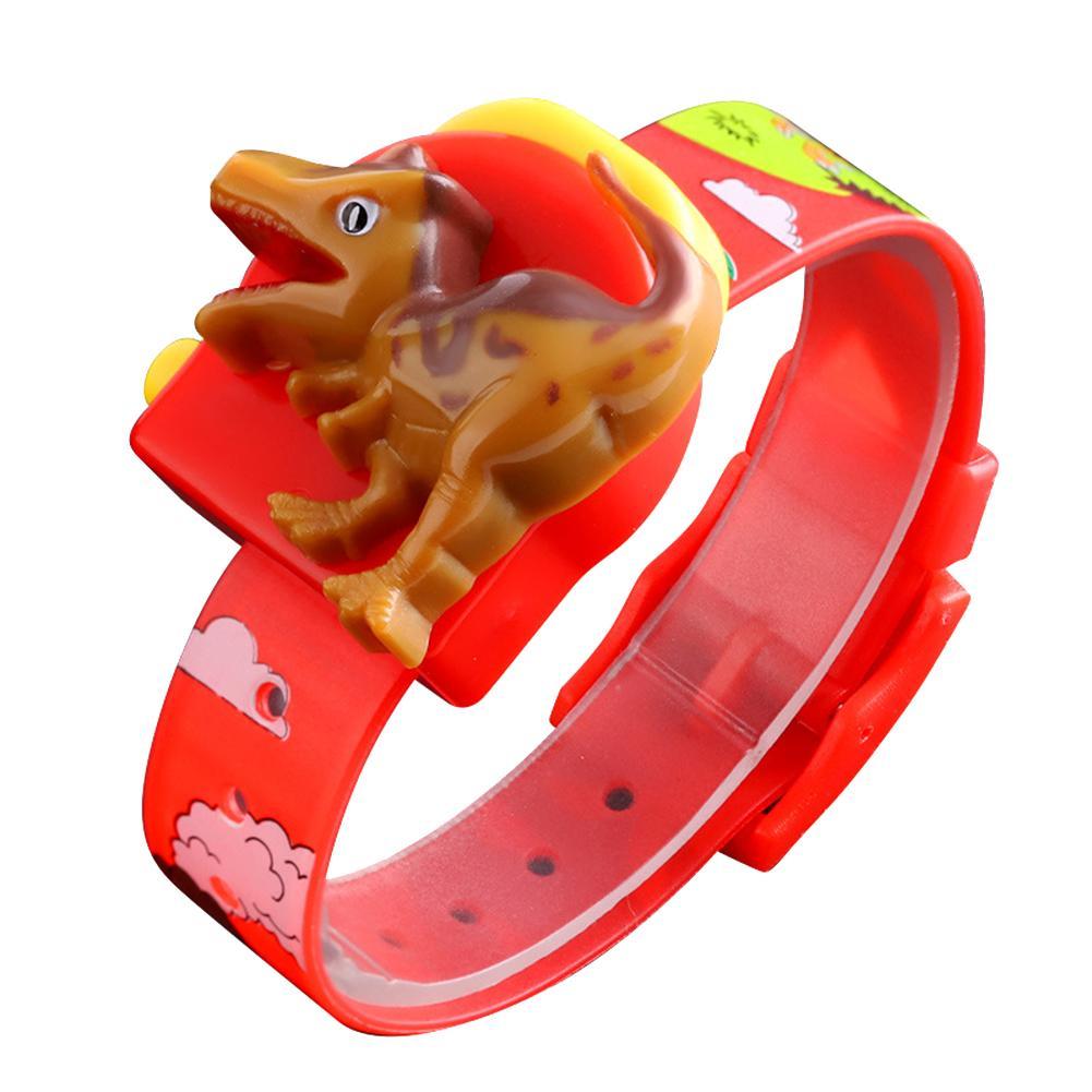 2019 Cute Cartoon Dinosaur Pop-up Detachable Printed Band Kids Digital Watch Fashion Simple Casual Children's Watches Kids Watch