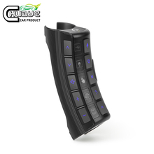 цена на 5S Universal Car Steering Wheel 11key Remote Control  Buttons Car Radio Android Dvd Gps Player MultiFunction Wireless Controller