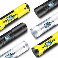 Portable Air Compressor Mini Inflator Handheld Air Pump 150PSI LCD Display LED Light JA55