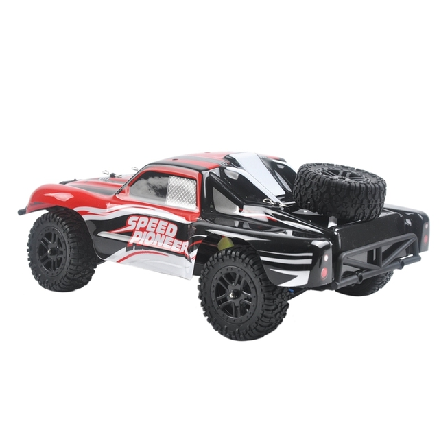 9301X RC Car 1/18 4WD 2.4G 50KM/H High Speed RC Car Remote Control Truck Toys Brushless Desert Crawler Car Vehicle Red 5