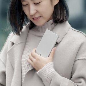 Image 5 - Xiaomi Mi 3 Pro 10000 mAh güç bankası İki yönlü hızlı şarj USB C çift giriş çıkış PLM12ZM 10000 mAh cep telefonu için Powerbank