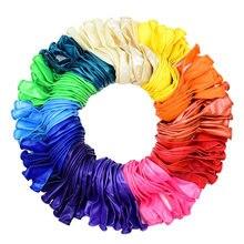 120 sztuk 12 cali Rainbow lateksowe balony na wesele dzieci jednorożec dekoracje na imprezę urodzinową przybory dla niemowląt balon z helem powietrza