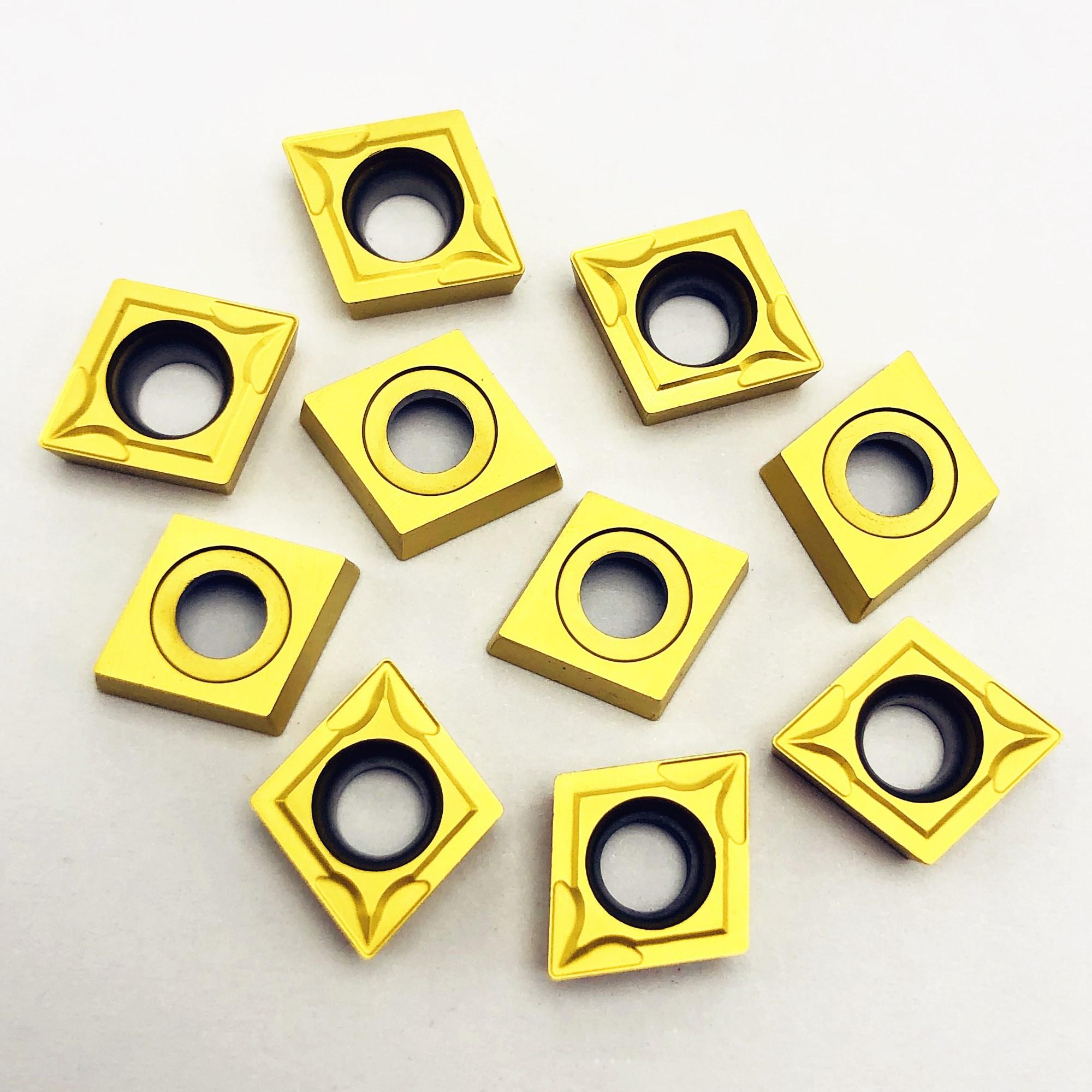 CCMT060204 US735 External Turning Tool Diamond Metal Turning Tool Inner Hole Fine Car Carbide Tools CCMT 060204 Cutting Tool