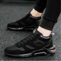 Men's Casual Shoes Fashion Sneakers High Top Footwear Zapatos De Hombre Comfortable Men Shoes A54 50