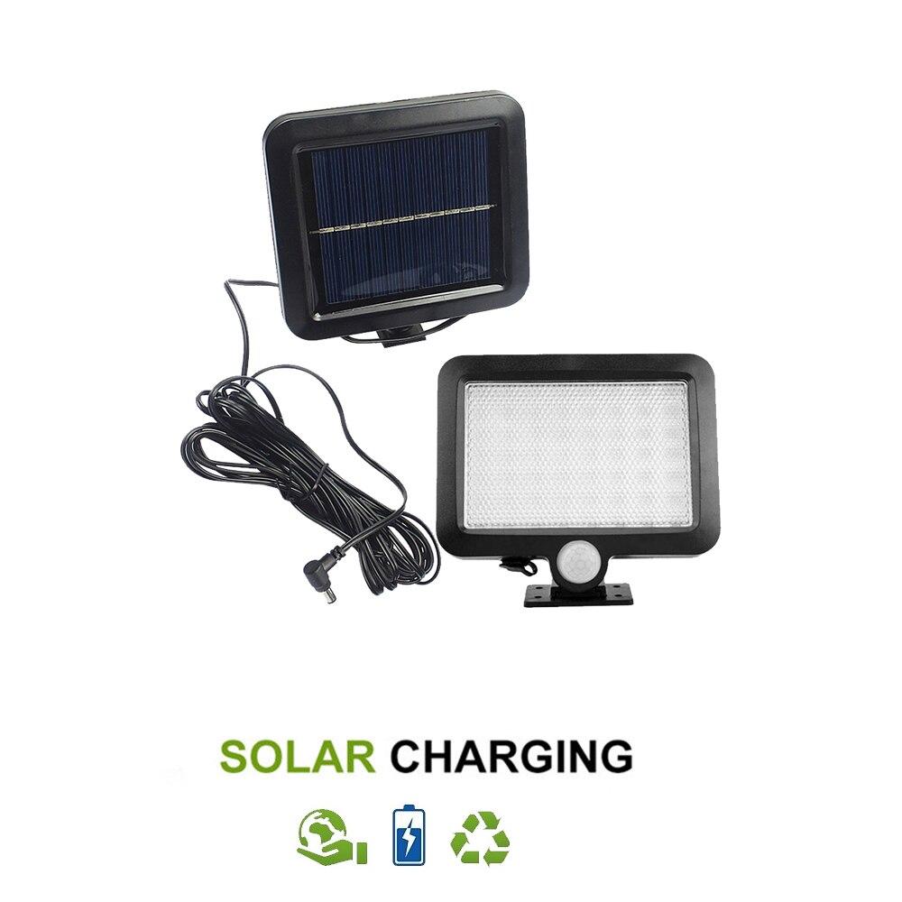 56/30 Leds Led Solar Light ABS Outdoor Lighting Garden Decoration Lamp Motion Sensor Powerful Solar Lights IP65 Waterproof Split