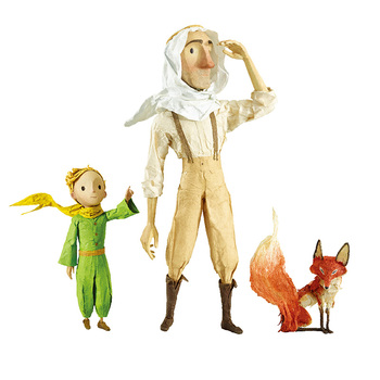 The Little Prince Figure Anime Figures Valentines Gift For Girlfriend Kids Toys Home Decoration Kid Birthday Presents