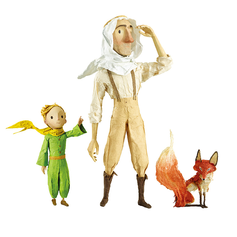 The Little Prince Figure Fox Airplane Travel Anime Figures Valentine's Gift For Girlfriend Kids Toys Home Decoration