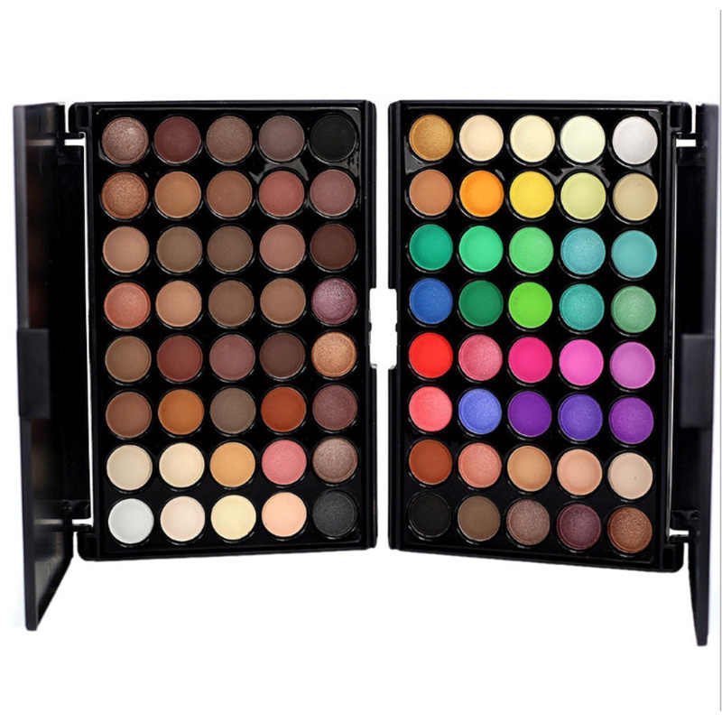 40 Color Eyeshadow Palette Matte Shiny Diamond Eyeshadow Glitter the First Luminous Eye Shadow Female Makeup Palette
